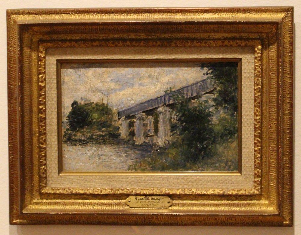 The Railroad Bridge, Argenteuil, 1874