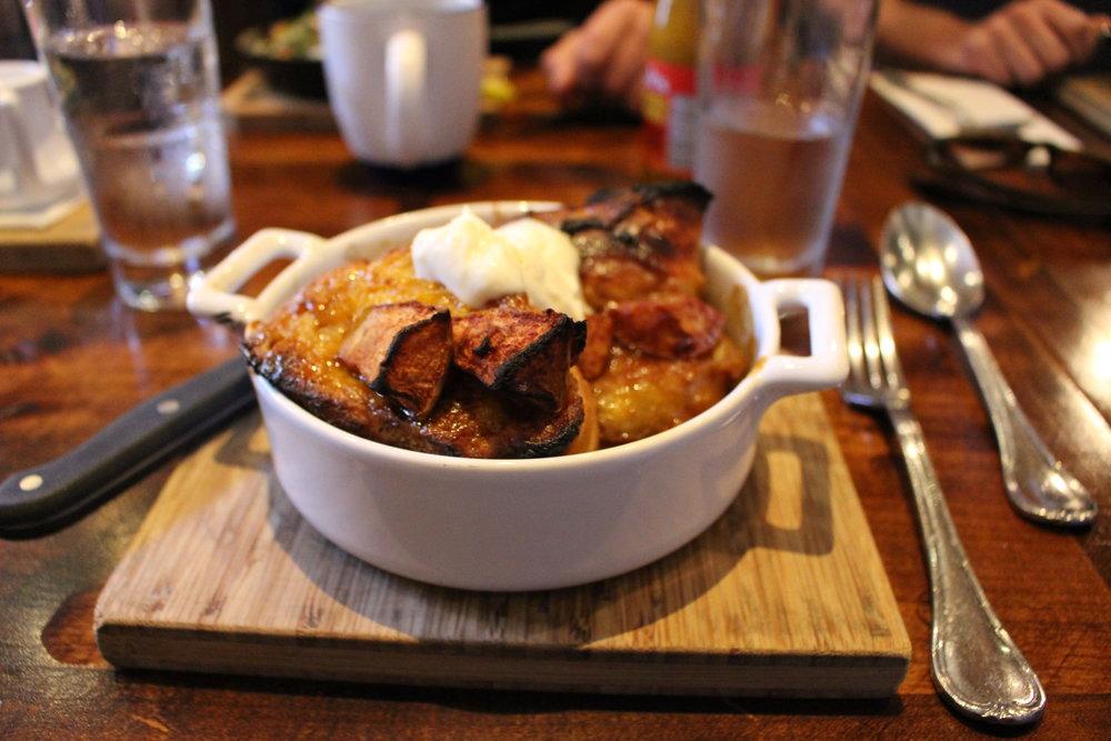 Caramel Apple French Toast
