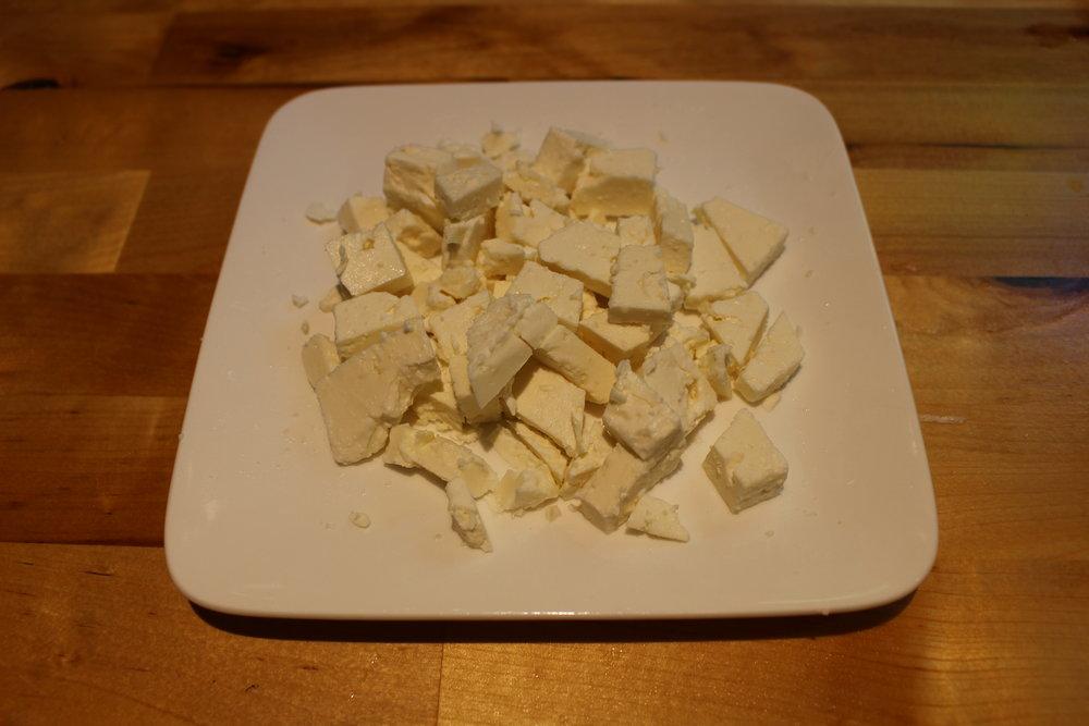 Crumbled feta (my favourite!)
