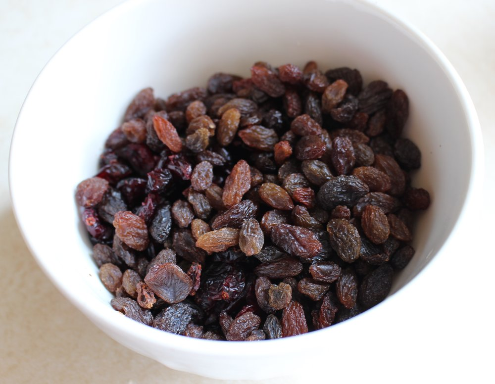 Add whatever dried fruit you like!