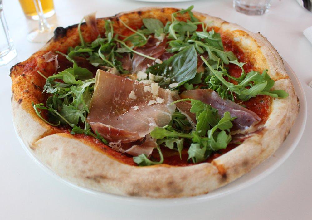 My pizza,  Arugula & Prosciutto