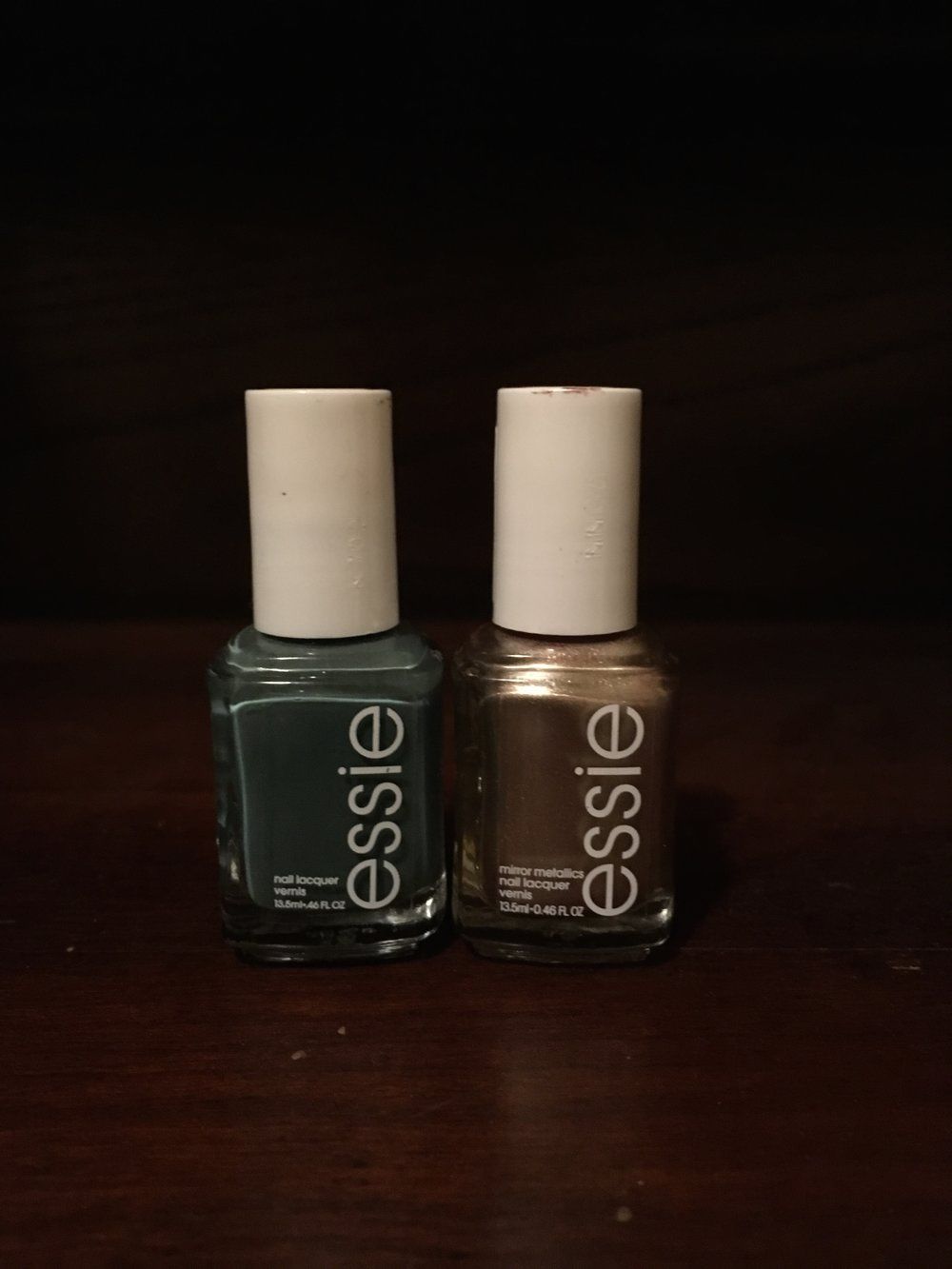 Essie   Vested Interest  &  Essie   Penny Talk
