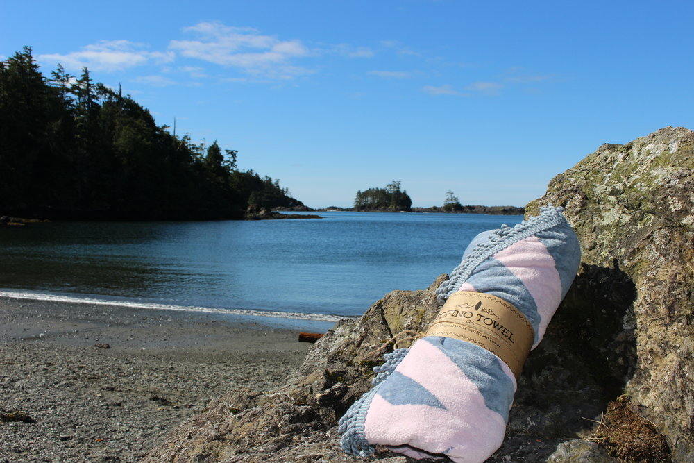 The Rosie  Tofino Towel, Little Beach, Ucluelet, BC