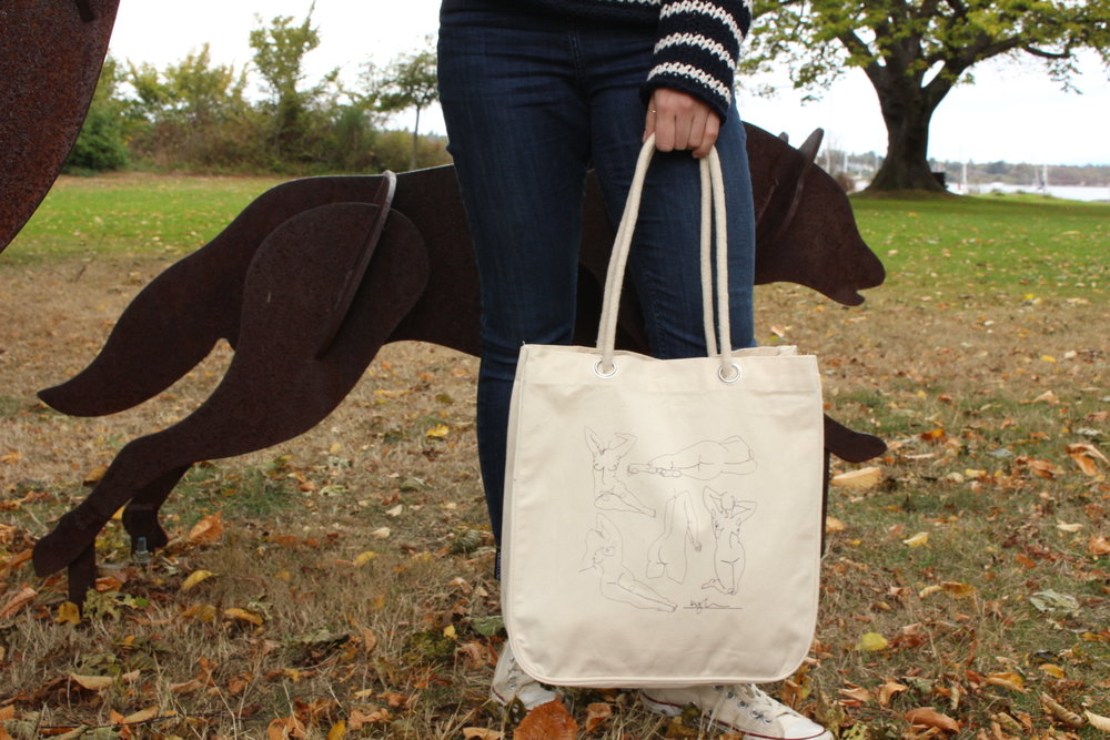 Female Unfiltered  Tote by Kyla MacKenzie