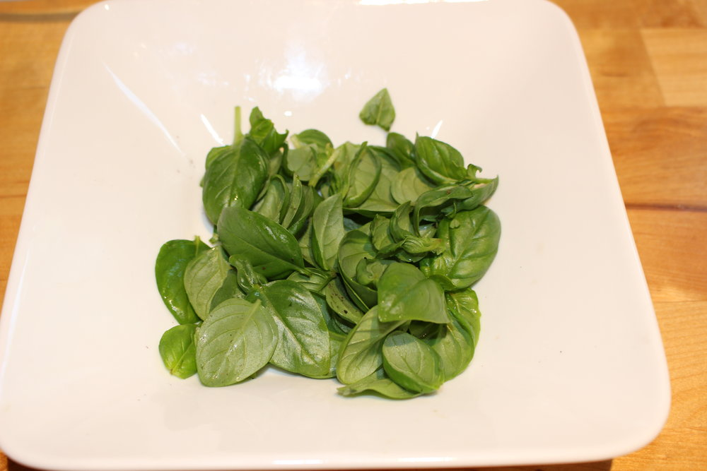 Basil from the garden
