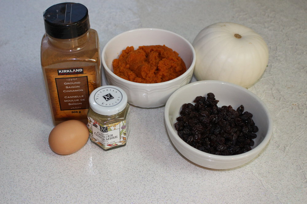 The major ingredients for the scones