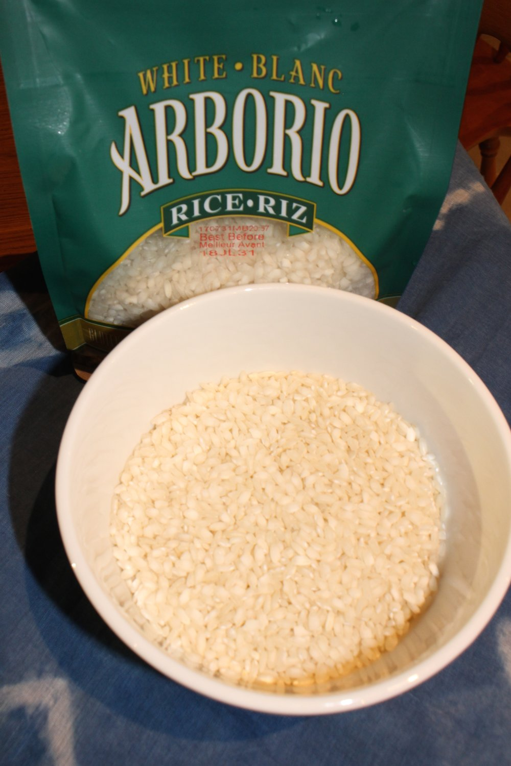Arborio rice is the best to use for risotto