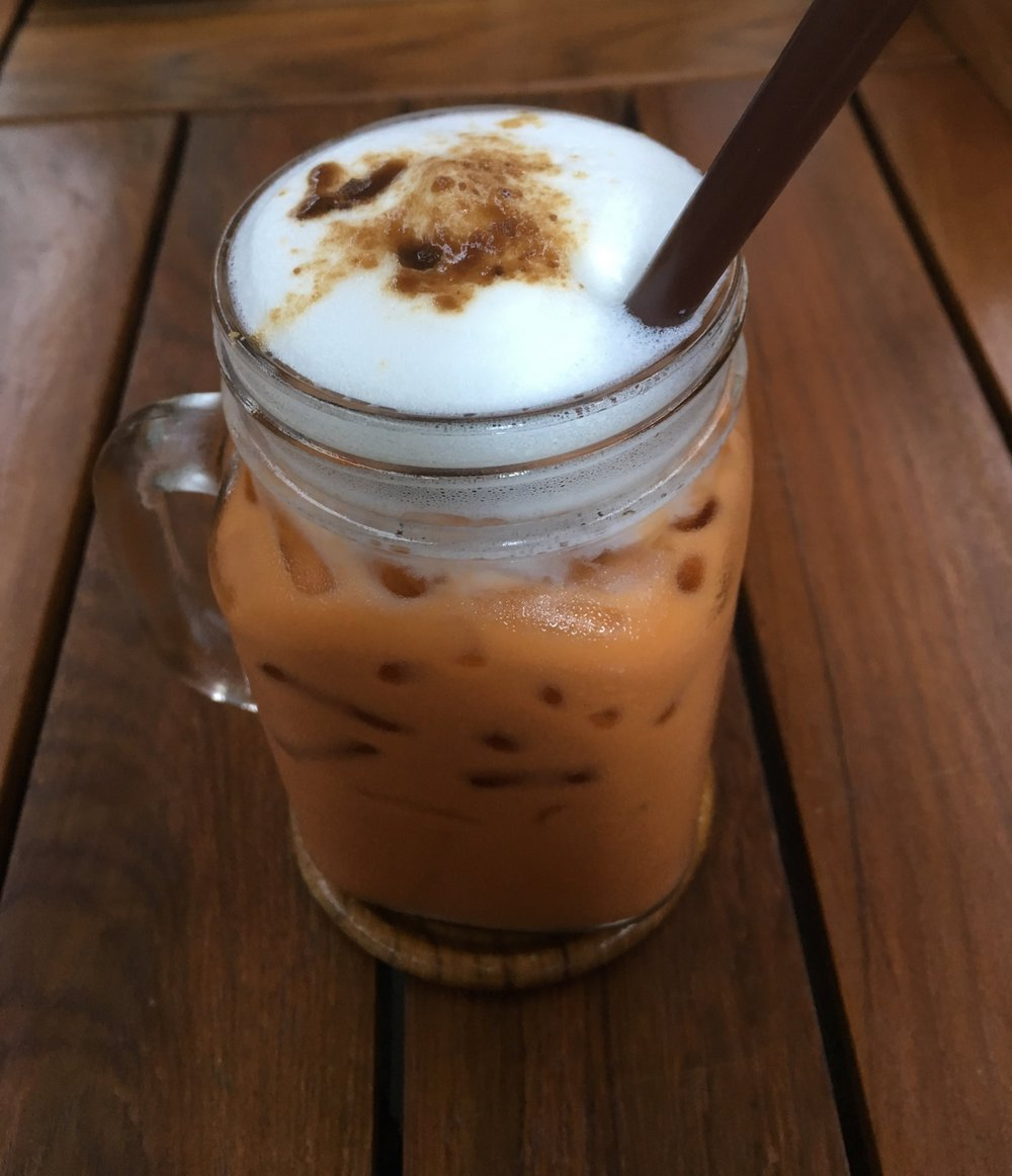 Dave's Thai Iced Tea, that I also loved