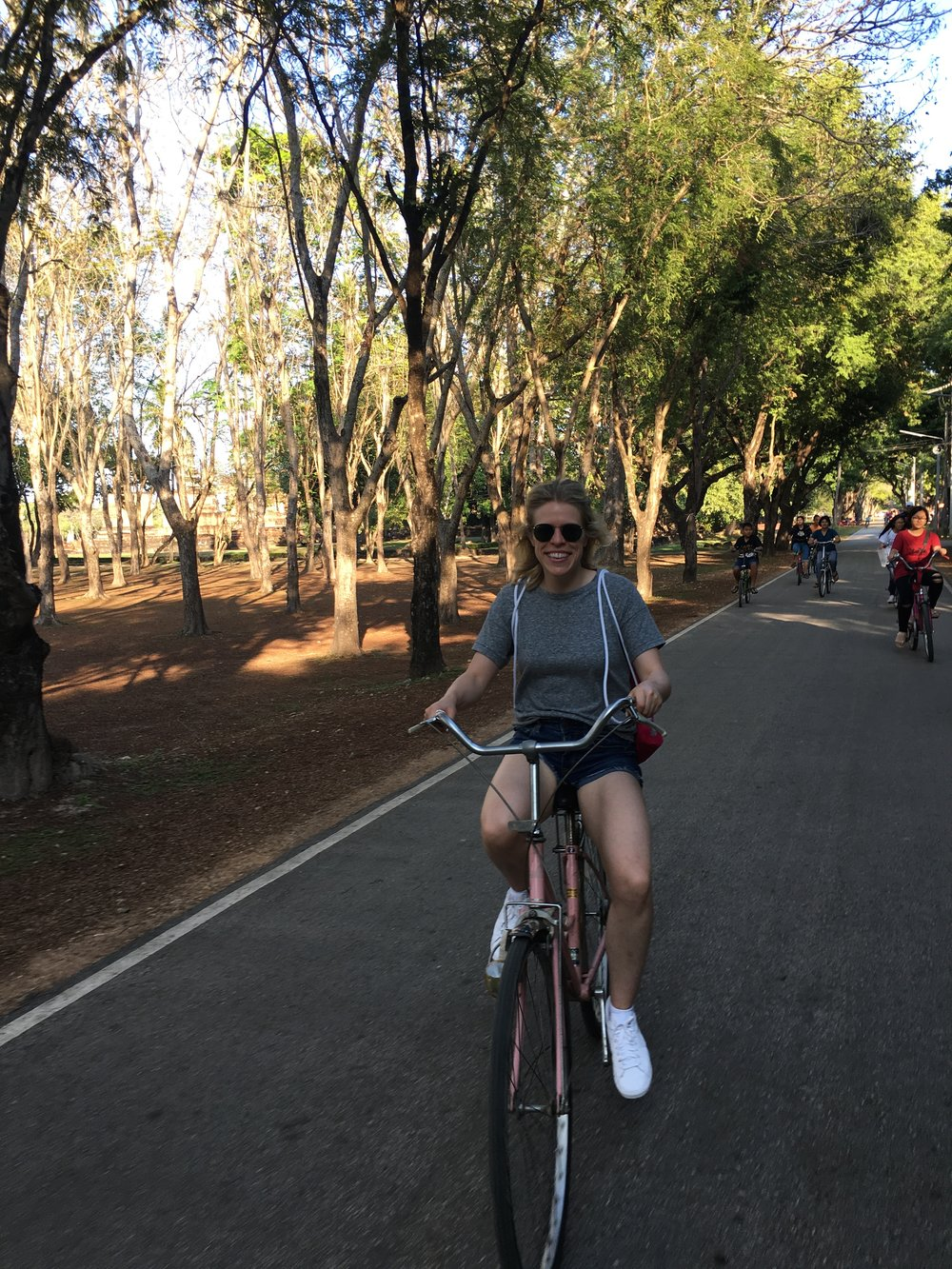 Here I am really enjoying the ride, who knew!