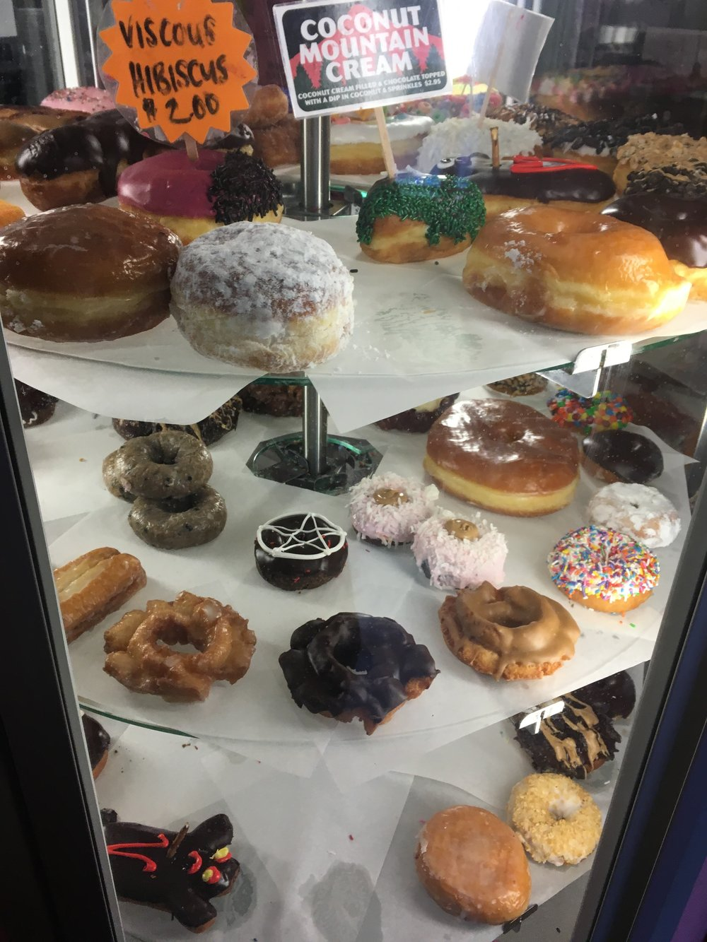 All the doughnuts to choose from