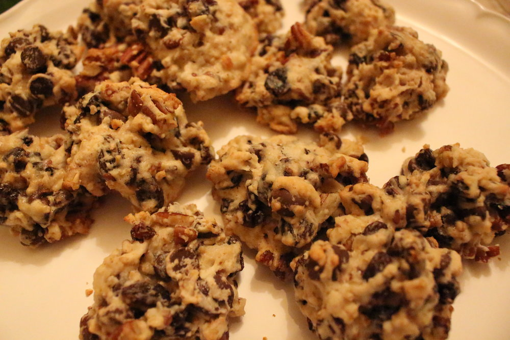 Perfectly chewy and crunchy!