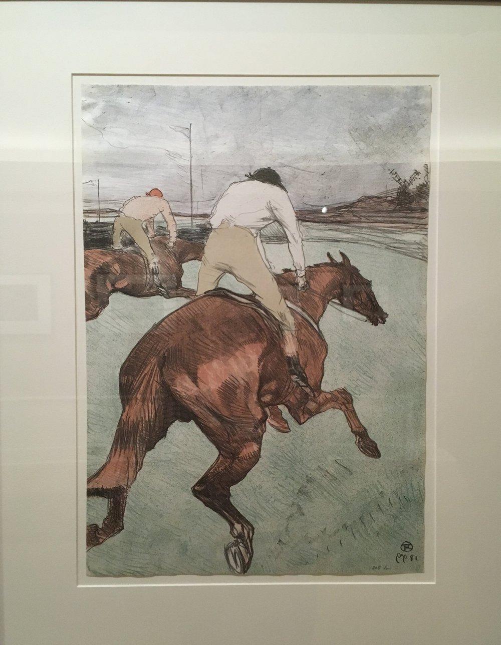 Henri de Toulouse-Lautrec,   Le Jockey (The Jockey)  , 1899, Color lithograph on China Paper