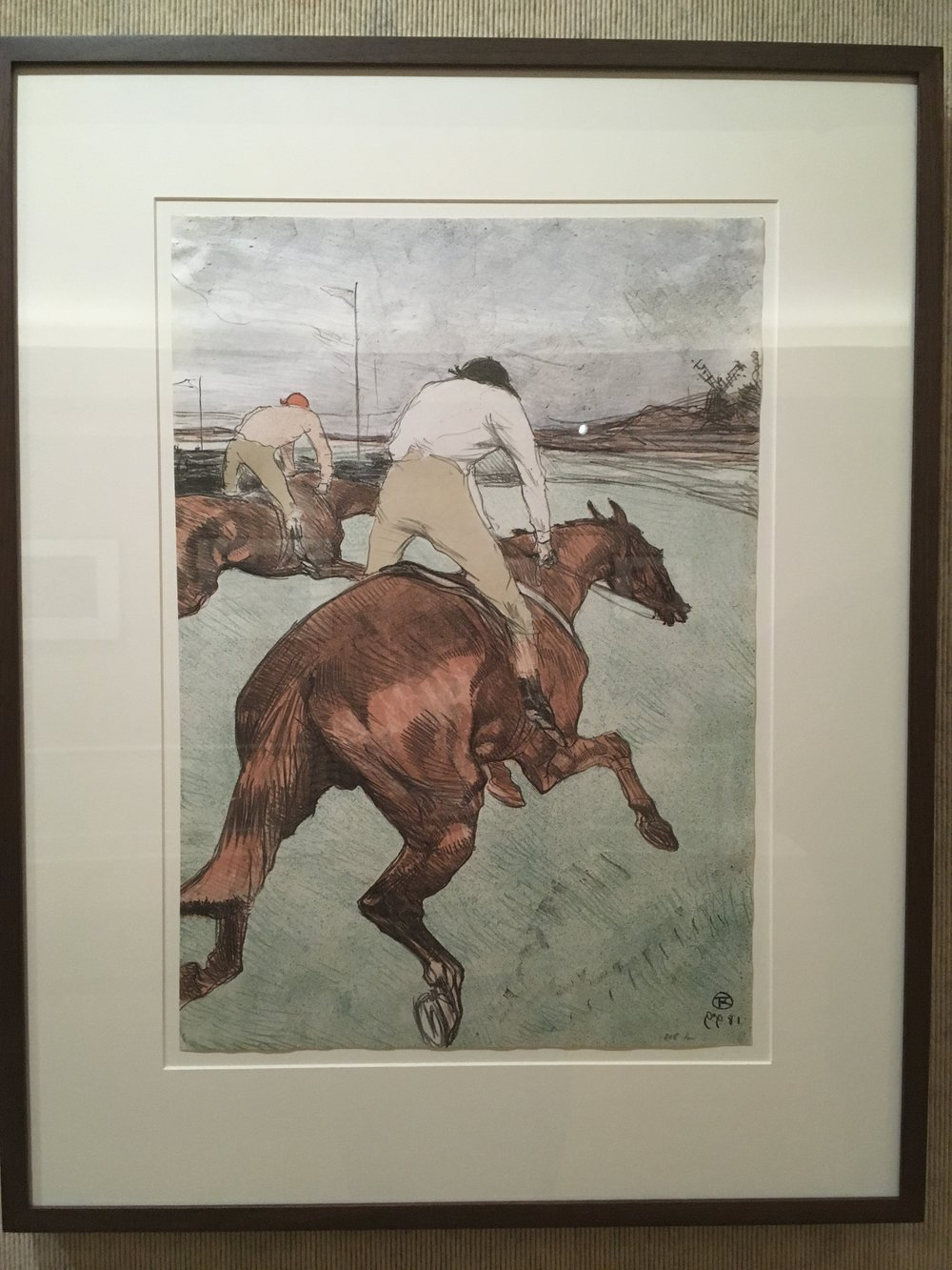 Henri de Toulouse-Lautrec,   Le Jockey (The Jockey)  , 1899, Color lithograph on China Paper