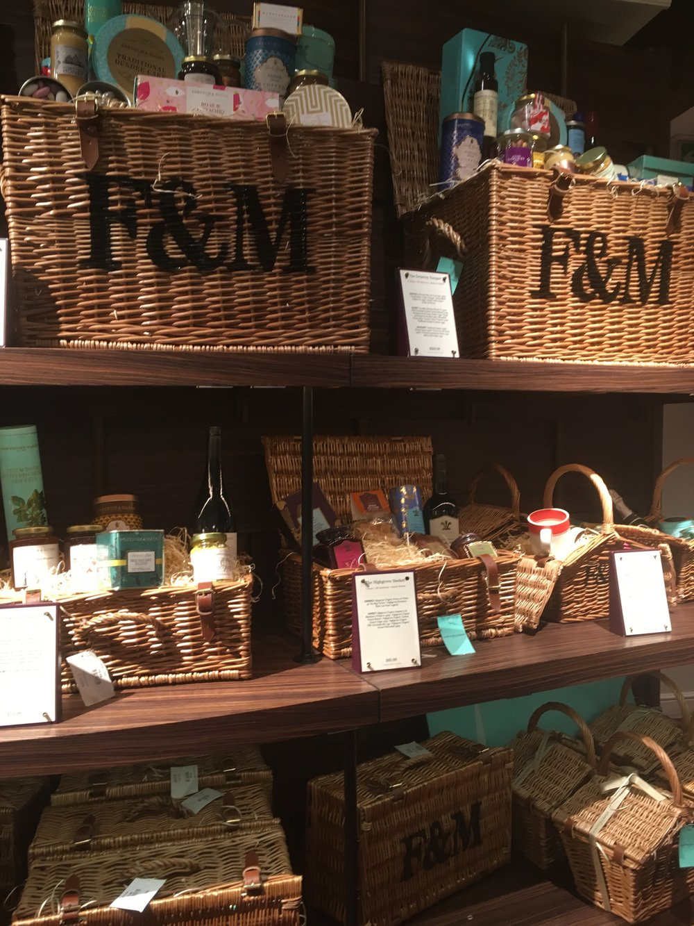 If I could have taken a picnic basket home with me I would have!