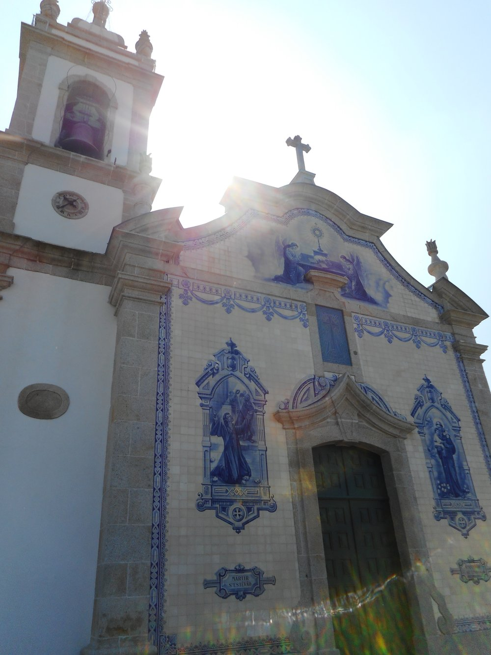 There were churches all along the Camino and each were so different from the last