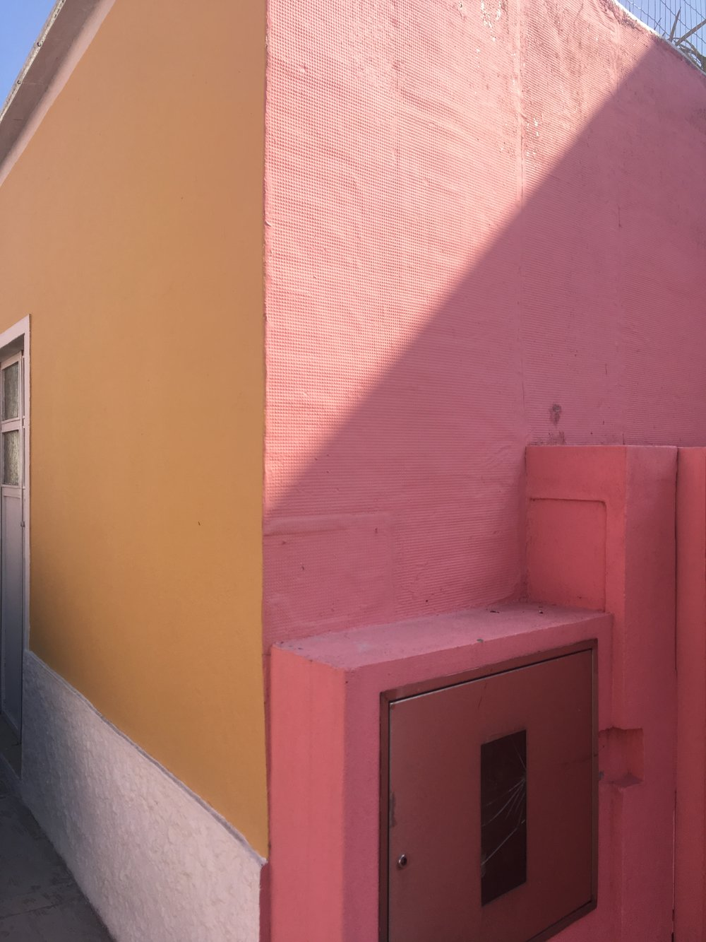 The colours of the houses and buildings in Portugal were amazing