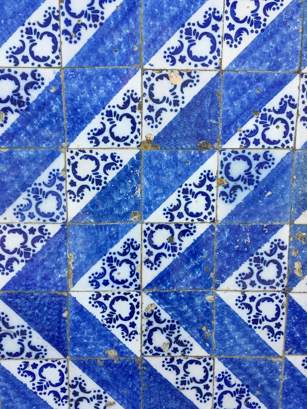 My favourite part of Portuguese buildings were the beautiful tiles