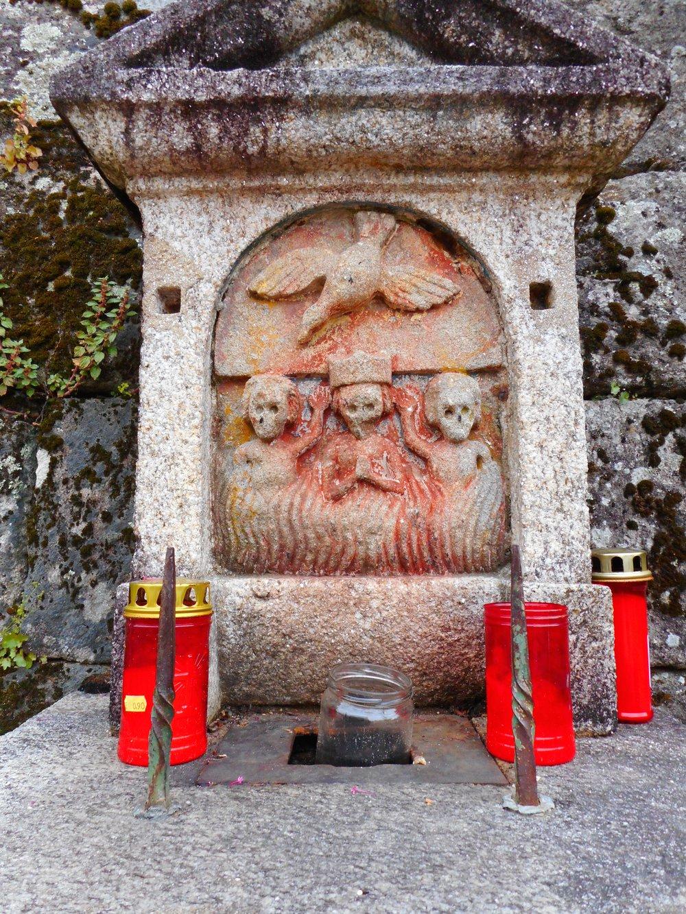 Beautiful shrines along the way