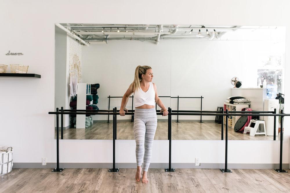 Kara in   The Studio   photograph by Jordan Dyck
