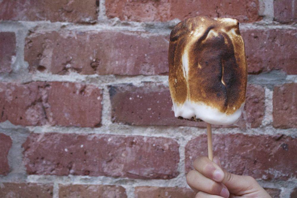The massive S'more Ice Cream Sandwich