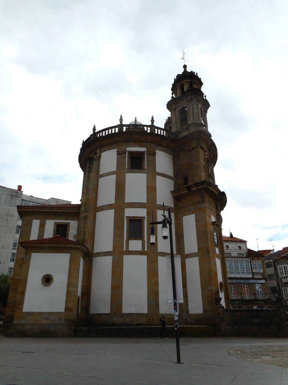 The Pilgrims Chapel in Pontevedra we had to visit