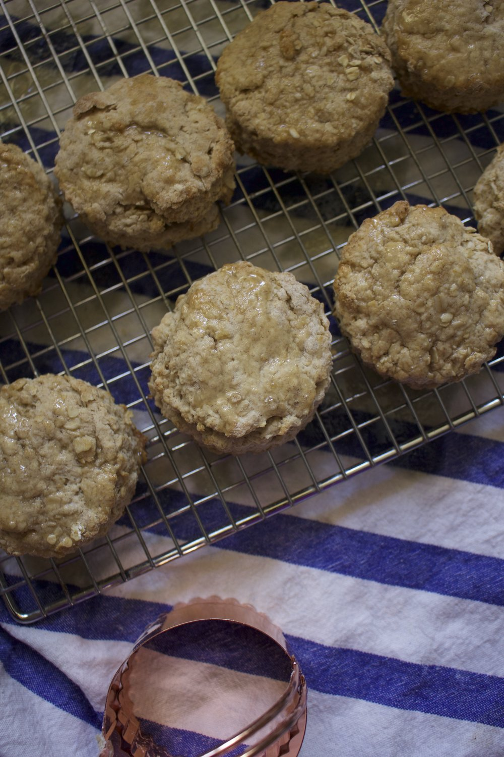 These scones have oats and flour for a delicious flavour but also healthy feel