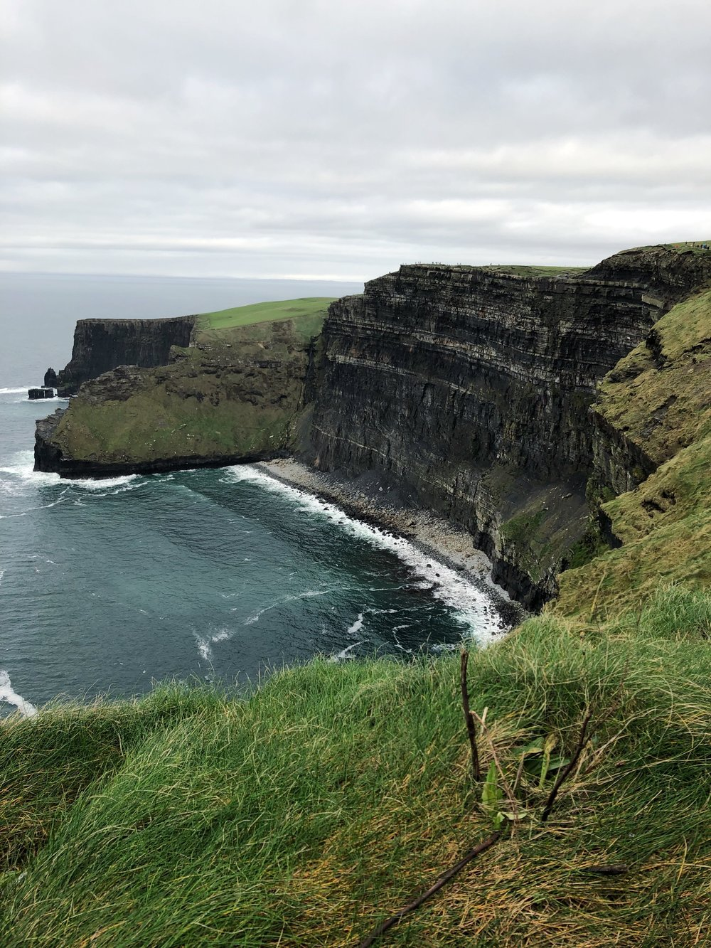 The sheer size of the cliffs is amazing