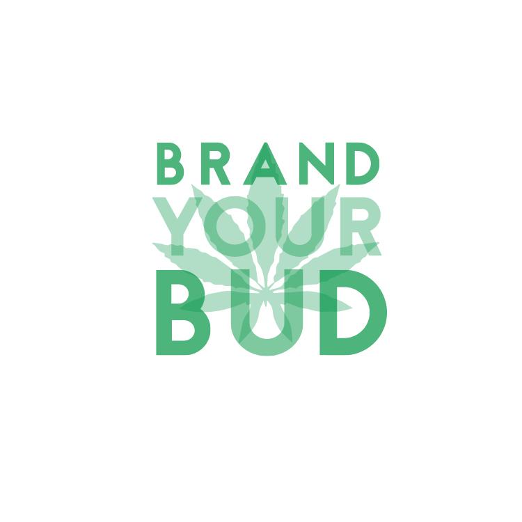 Logo created for a marijuana branding company.