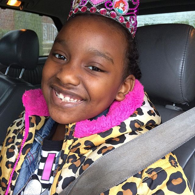 It's my Fashionista's birthday!! My sweet and feisty baby lol. I love this little girl. Geez! 7 years old already.