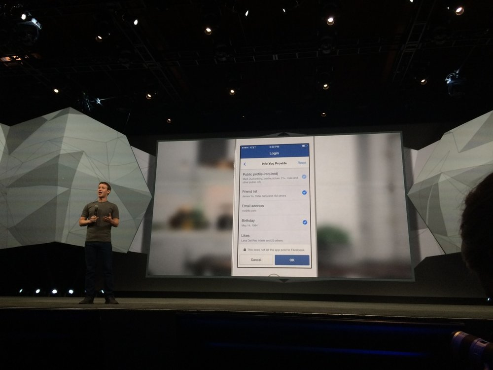 Last month my first project at Facebook was publicly announced at F8. I'm happy to say that the new Facebook Login is the result of much simplification, clearer messaging and a straightforward effort to give more control to back people using our tools.    Product video here: http://vimeo.com/93314940