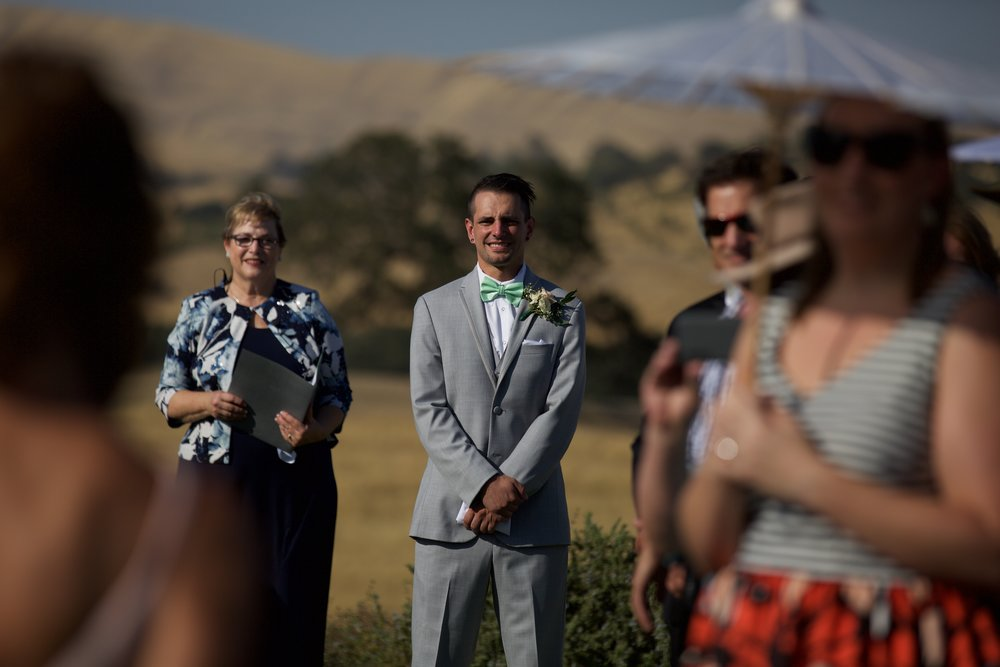 walking down the aisle-josh isaacs photography-sunset-taber ranch-bay area wedding photographer-josh isaacs.jpg