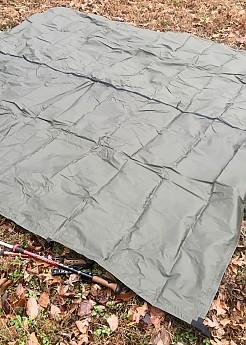 Aqua Quest tarp and trekking pole