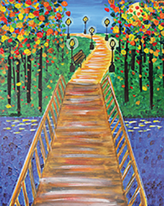 """For this event we are painting """"Walk in the Park"""""""