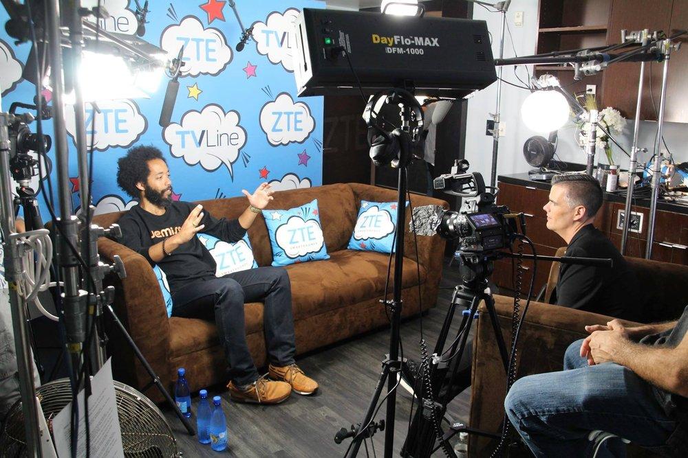 TV Line Studio at Comic-Con Presented by ZTE