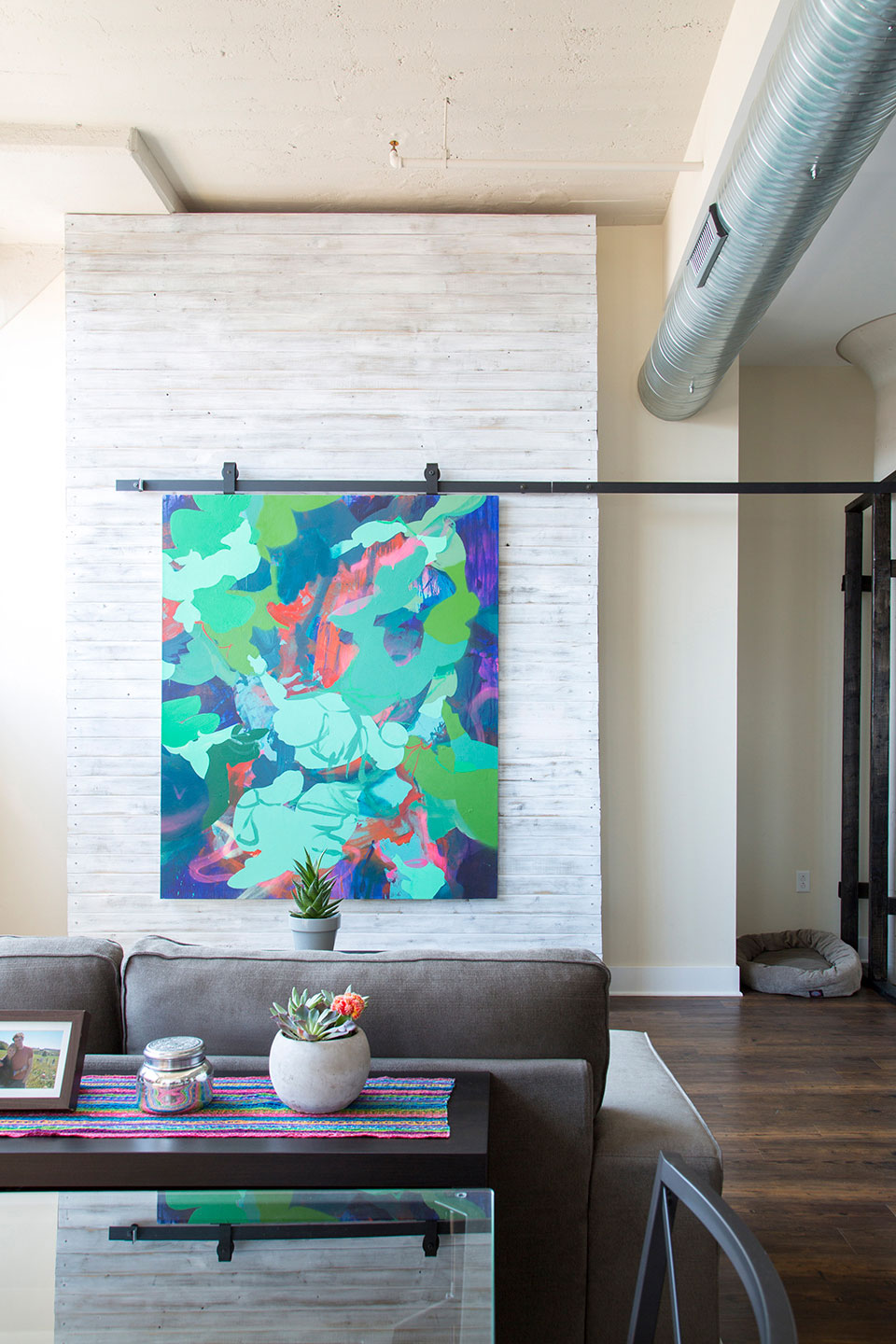 Shape Shifters #1  (in situ) / Private residence /Baltimore, Maryland