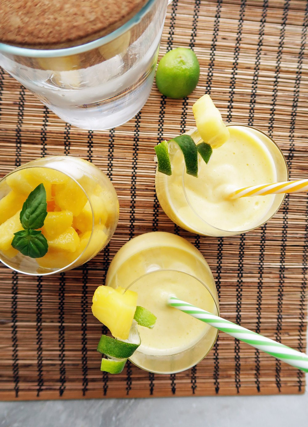 3-Ingredient Pineapple Coconut Water Slushies: A quick, easy, and refreshing drink that's perfect for summer. www.yayforfood.com