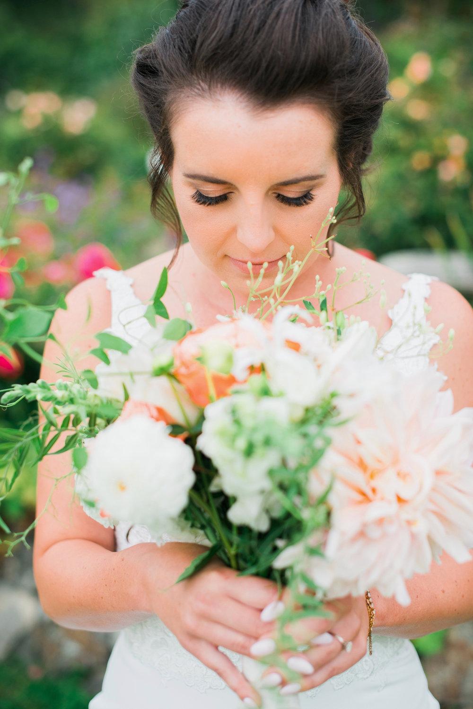 Bridal beauty makeup look