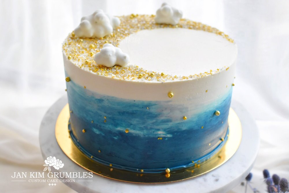 Dream BIG Bithday Boy Ryans First Birthday Cake Jan Kim Grumbles