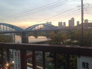 ゴジラに、バッキバキにされていた丸子橋。