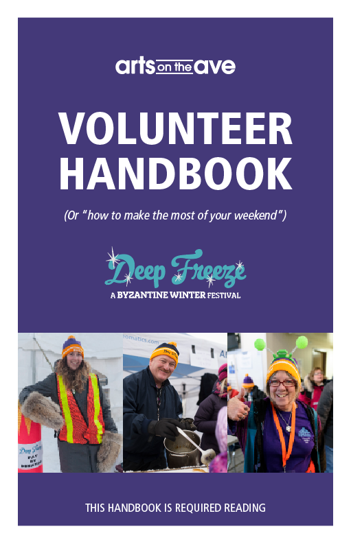 Volunteer Handbook Thumbnail
