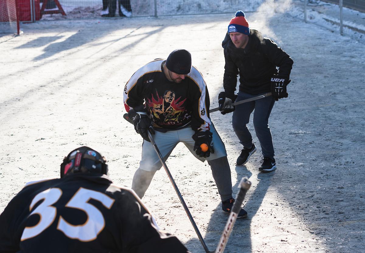 Street Hockey Tournament Deep Freeze