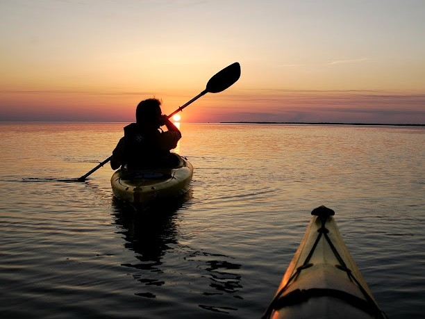 Sunset kayaking trips are a great way to unwind after a long day on the beach. Rent kayaks yourself or join our guide for a guaranteed good time.
