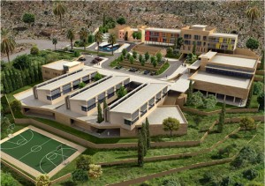 Architectural rendering of Dar al Aytam Kobbeh, Lebanon orphanage and education center