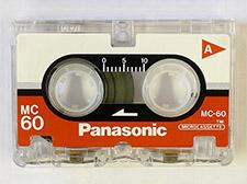 60 min micro cassette