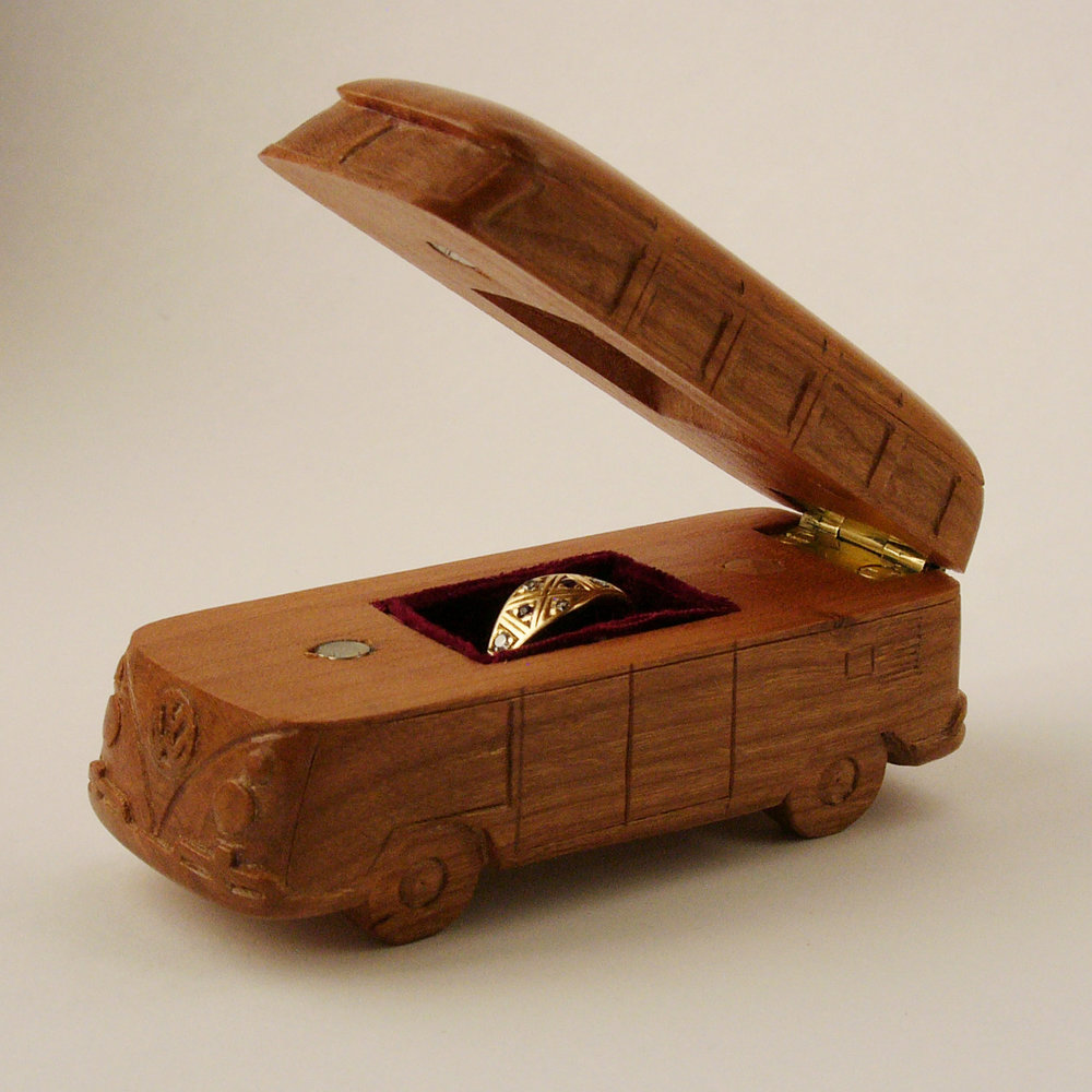 VW van ring holder