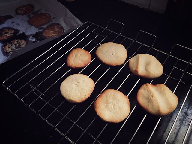 I wish there was a way to post that smell on Instagram :) #ButterCookies