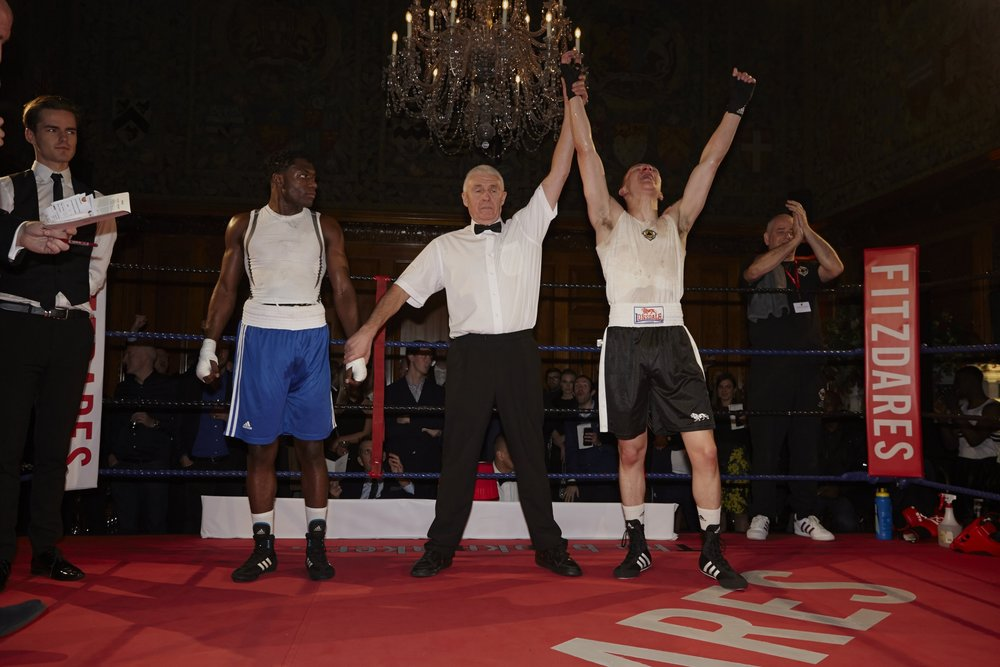 Wincott was to take home the win, but all eight boxers did their gyms proud with skilled performances