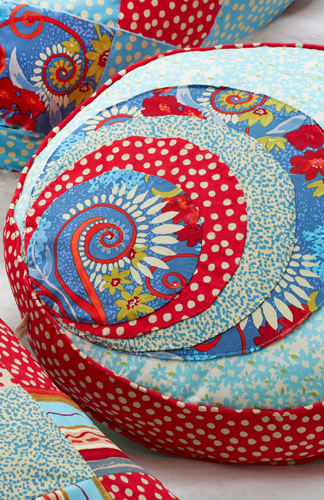 Katherine's Wheel Swirl Cushion