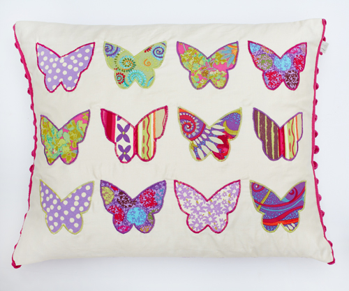 Katherine's Wheel Butterfly Cushion