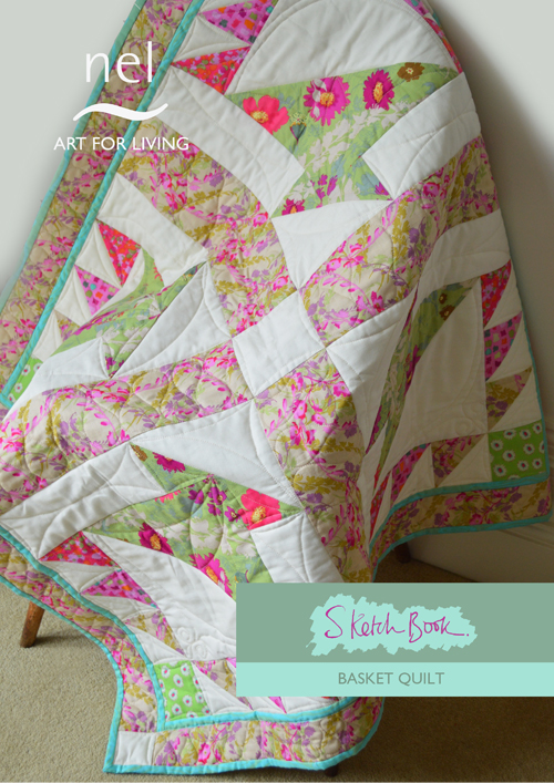 Sketch Book Basket Quilt